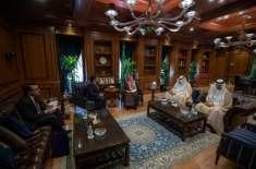 سعودی عرب میں پاکستانی سفیر راجہ علی اعجاز کی وزیر خارجہ عادل الجبیر ..