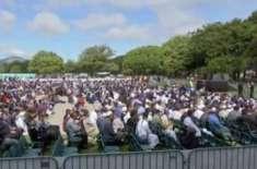 نیوزی لینڈ میں نماز جمعہ کی ادائیگی، ہزاروں افرادکی شرکت،وزیراعظم ..