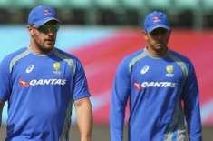 ایرون فنچ اور عثمان خواجہ نے پاکستان میں کھیلنے کا اشارہ دیدیا