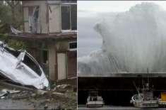 جاپان میں سمندری طوفان نے تباہی مچادی، 56 افراد ہلاک