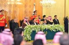 سعودی ولی عہد کے وزیراعظم اور صدر مملکت کے لیے قیمتی تحائف