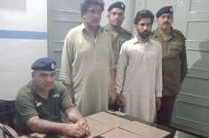 پولیس کا منشیات فروشوں کے خلاف اپریشن کلین اپ مقدمات درج ملزمان گرفتار