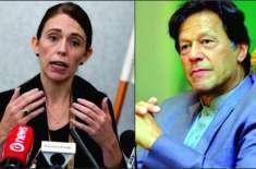 وزیراعظم عمران خان اور نیوزی لینڈ کی وزیراعظم کے درمیان ٹیلیفونک رابطہ