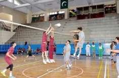 آل پاکستان والی بال چمپئن شپ پشاور یونیورسٹی نے جیت لی