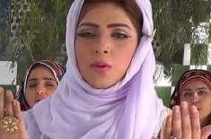 ماہ نور 2نعتوں کی عکسبندی مکمل کرا کے عمرہ کی ادائیگی کیلئے سعودیہ پہنچ ..
