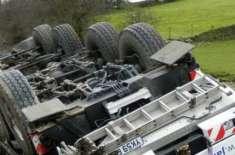 بھارتی ریاست مدھیہ پردیش میں بس اور ٹرک میں تصادم، 9افراد ہلاک،20زخمی