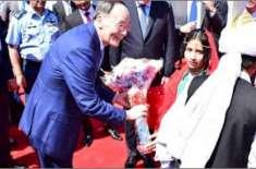 """چینی نائب صدر کو """"نشان پاکستان"""" کا اعزاز عطا کردیا گیا"""