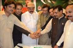 پاکستان تحریک انصاف جدہ کے زیر اہتمام جدہ کے ایک مقامی ریسٹورینٹ میں ..