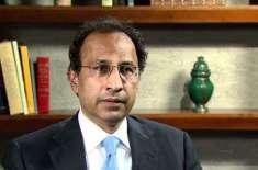 مشیر خزانہ ڈاکٹر عبدالحفیظ شیخ 25 مئی کو حکومتی اقدامات سے متعلق میڈیا ..