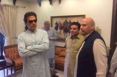 عمران خان سے گورنر چوہدری سرور کل اہم ملاقات کریں گے