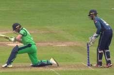 انگلینڈ اور آئرلینڈ کے درمیان ون ڈے کرکٹ سیریز کا پہلا میچ کل کھیلا ..