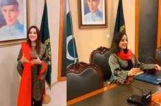 حریم شاہ کے چرچے ' پاکستانی صحافی نے بھارتی میڈیا کومنہ توڑ جواب دیدیا