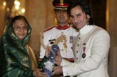سیف علی خان نے حکومت کو پدما شری ایوارڈ واپس کرنے کا اعلان کردیا