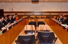وزیراعظم عمران خان کی امریکہ میں چینی وزیرِ خارجہ وانگ ژی سے ملاقات