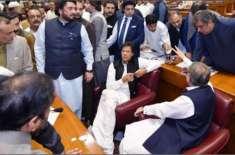 نجم سیٹھی نے قومی اسمبلی میں فارورڈ بلاک بننے کا اشارہ دے دیا
