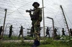 بھارت پر جنگی جنون سوار، ایل او سی پر فائرنگ کر دی
