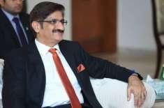 وفاق کا رویہ انتہائی افسوس ناک اور غیر ذمہ دارانہ ہے، سید مراد علی شاہ