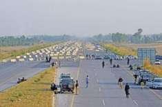 ملک کی تمام موٹرویز، جی ٹی روڈ اور اہم شاہراہیں بند کرنے کا فیصلہ