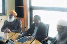 مولانا فضل الرحمان کی اجیت دوول کیساتھ ملاقات کی تصویر سے متعلق حقائق ..