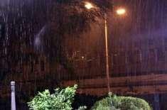 شدید گرمی کی پیشن گوئی غلط ثابت ہوگئی، موسلا دھار بارش نے لوگوں کو خوشگوار ..