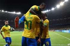 کوپا امریکہ فٹ بال کپ، میزبان برازیل نویں مرتبہ چیمپئن بن گیا، فائنل ..