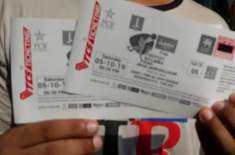 RS 500 ticket sell out for first 2 t20i