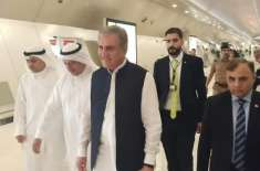 وزیر خارجہ شاہ محمود قریشی کویت پہنچ گئے