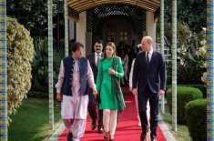 برطانوی شاہی جوڑے کے دورہ پاکستان میں جمائما کا ہاتھ