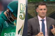 میچ آسٹریلیا نے نہیں جیتا بلکہ پاکستان نے ہارا :مائیکل ہسی