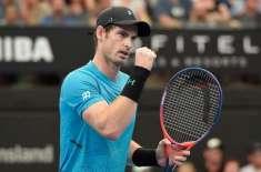 اینڈی مرے ومبلڈن اوپن ٹینس ڈبلز مقابلوں میں شرکت کے ذریعے کورٹ میں ..