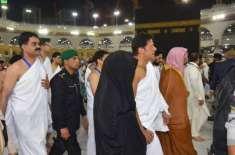 وزیراعظم عمران خان کی خاتون اول کے ہمراہ عمرہ کی ادائیگی
