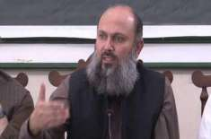 وزیراعلیٰ بلوچستان نے پی ڈی ایم کے کوئٹہ جلسے کے حوالے سے خدشات کا اظہار ..