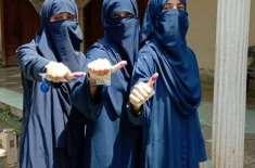 قبائلی اضلاع میں پہلی بار خواتین نے ووٹ ڈال کر تاریخ رقم کر دی
