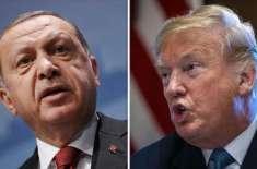 شام پر حملے کے جواب میں امریکا نے ترکی پر پابندیاں عائد کردیں