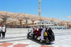 مسجد نبوی میں حجاج کرام کی خدمت پر7720 افرادپر مشتمل عملہ تعینات