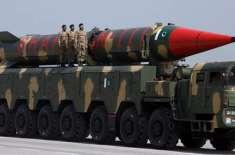پاکستان ، بھارت اور چین اپنے جوہری ہتھیاروں کے حجم میں اضافہ کر رہے ..
