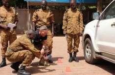 مغربی افریقہ کے ملک برکینا فاسو کے شمالی علاقے میں مسلح افراد کا مسجد ..