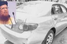 کراچی میں مفتی تقی عثمانی کی گاڑی پر فائرنگ، محفوظ رہے