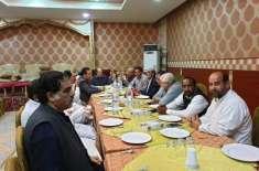 جے کے سی او کے سیکرٹری مالیات راجہ شمروز خان نے بانی چیئرمین جے کے سی ..