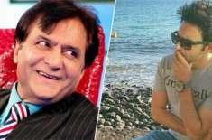 اداکار فردوس جمال کے بیٹے حمزہ فردوس کا پاکستان چھوڑنے کا اعلان