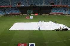 بارش کے باعث آئی سی سی اکیڈمی میں لاہور قلندرز اور اسلام آباد یونائیٹڈ ..