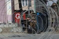 بھارتی انتخابات مسترد :مقبوضہ کشمیر میں مکمل ہڑتال