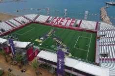 سوکا ورلڈ کپ، ترکی اور برازیل کے درمیان میچ 10 منٹ کیلئے روک دیا گیا