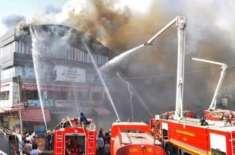بھارتی ریاست گجرات کے کالج کی عمارت میں آگ لگنے سے 19 طلباءجل کر ہلاک