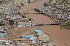 ایران میں سیلاب متاثرین کے لیے سعودی عرب اور امارات کی امداد
