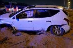 عجمان میں کار کو خوفناک حادثہ، ایک شخص ہلاک