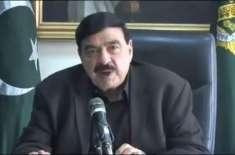شیخ رشید کا پی ٹی آئی رہنماؤں کوگندے کپڑے گھرمیں دھونےکا مشورہ