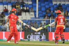 PSL4, Defendant Champions Islamabad United beat Karachi Kings by 7 wickets Excellent batting of Luke Rider and Smith Patel