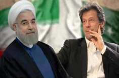 وزیراعظم عمران خان کی تہران میں ایرانی صدرحسن روحانی سے ملاقات