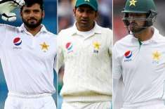 Azhar Ali and Sean Masood are strong candidates for the test lead